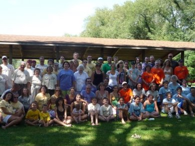 Knapp Family Reunion 2010 Group Photo
