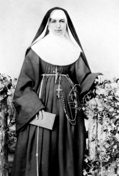 Sister Marianne Cope in her youth. From Wikimedia Commons, the free media repository