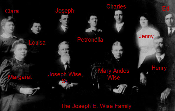 WISE_Joseph E. Family after 1895